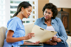 caregiver counseling patient